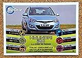 TOP GEAR Topps Turbo Attax 2014 Car Motoring Card No 005 HYUNDIA 120