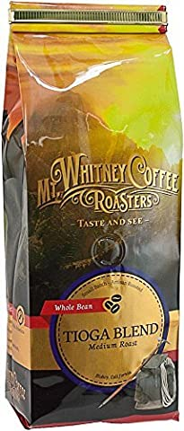 Mt, Whitney Coffee Roasters, Whole Bean Coffee, Tioga Blend, Medium Roast, 12 oz (340 g)