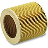 Karcher Cartridge Filter For Wd 3.200 And Mv3 Vacuum Cleaner
