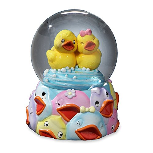 Jingle Jumbles Gummi Ducky Wasser Globus, indem die San Francisco Musik Box Company -
