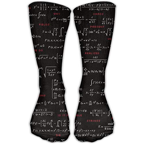 Unisex Casual Crew Socks Physik Wissen Mathematik Philosophie Mode Neuheit Socken - Wigwam-ski-socken