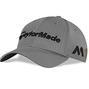 2016 TaylorMade Tour Radar M1 Adjustable Mens Structured Golf Cap Gray