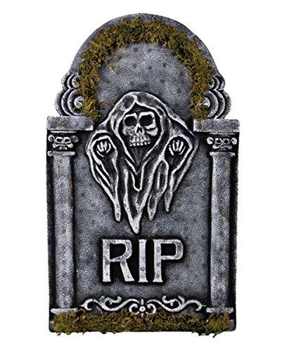 lapide Grim Reaper con muschio