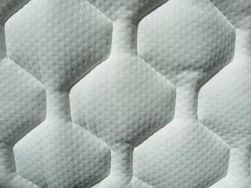 WABEZU Hardside Wasserbett Bezug/hochwertige Wasserbett Auflage / 183x213 cm / 100% Polyester/Made in Germany -