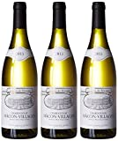 Château de Péronne France Burgundy Vin Blanc Mâcon-Villages AOC Pellerin 2013 75 cl - Lot de 3