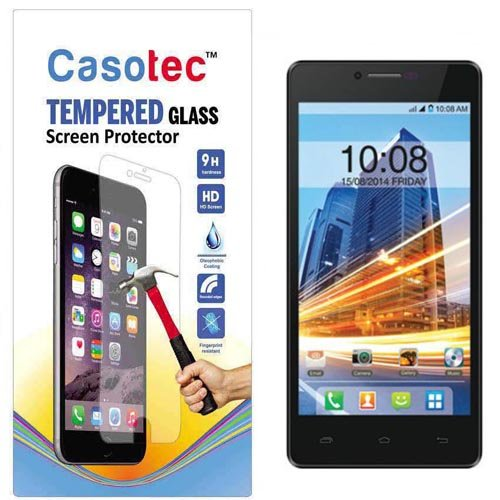Casotec Tempered Glass Screen Protector for Intex Aqua Star HD  available at amazon for Rs.125