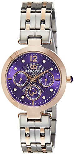 Gio Collection Analog Purple Dial Women's Watch - G2017-11 image