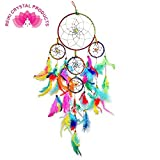 #2: Reiki Crystal Products Dream Catcher Car & Wall Hanging Dream Catcher, Attract Positive Dreams