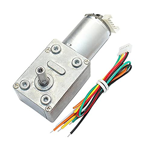 EsportsMJJ GM4632-370 DC 24V 80RPM High torque Turbo Encoder Motor