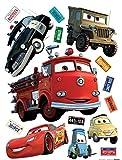 AG Design Wand Sticker Cars DK1794, Polymerfilm, 65 x 0,02 x 85 cm, Mehrfarbig
