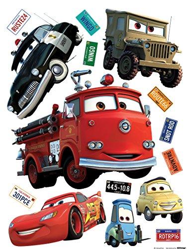 Wand Sticker Cars DK1794, Polymerfilm, 65 x 0,02 x 85 cm, mehrfarbig (Kinder-wand-sticker-cars)