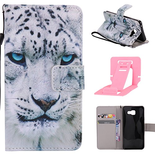 Ekakashop Samsung Galaxy A3 2016/A310 Custodia in Pelle, (con a Free Kickstand) Fashion Moda Colorate (Messenger Folio)