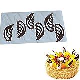 ODN Kuchen Dekorieren Werkzeug Engel Flügel Form Silikon Schokolade Kuchen Plugin Schimmel