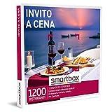 Smartbox - Invito a cena Cofanetto Regalo Gourmet 1 menù di due o tre portate per 2 persone