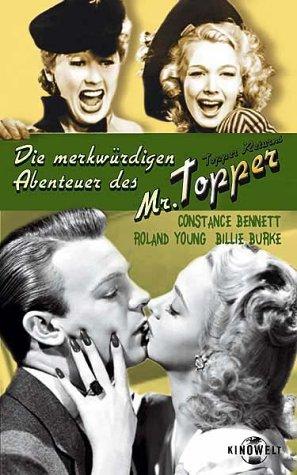 Bild von Die merkwürdigen Abenteuer des Mr. Topper [VHS]