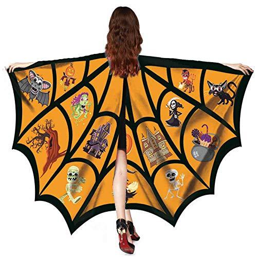 TEBAISE Schmetterling kostüm Frauen Schmetterling Flügel Schal Schals -