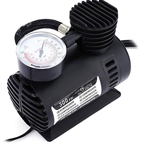 SHINGO Tragbare Mini-Luftkompressorauto-Luftpumpe des Luftkompressors 12V tragbar und multifunktional -