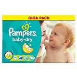 Pampers Baby Dry Taille Maxi 9-20kg Plus (111) - Paquet de 6