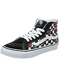 Vans U Sk8-Hi Slim Cherry Checkers - Zapatillas bajas unisex