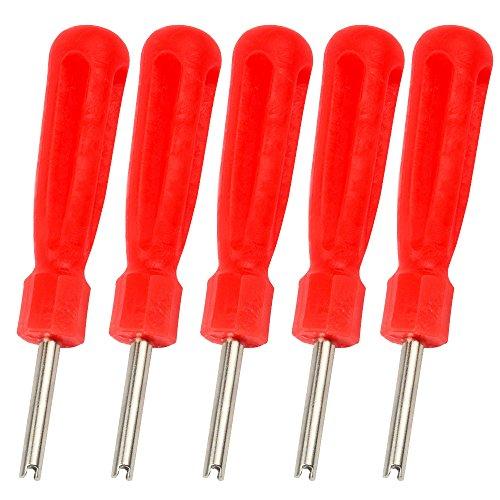 SENZEAL 5 valvola di acciaio per utensili pneumatici condotto moto kit di riparazione tasto rosso della valvola
