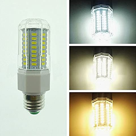 LanLan 360° Beam Angle Lamps E27 LED Lamp 110-265V 9W 5730 SMD 80 LEDs Corn Light Bulb Home Lighting Warm White