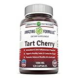 Amazing Formulas Tart Cherry Extract - 1000 Mg, 120 Capsules from Amazing Nutrition