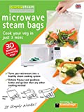 quickasteam microwave cooking bags MEDIUM size 30 pack