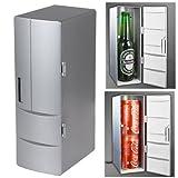 PsmGoods Set Kühlung und Heizung Funktionen als ein Mini USB Powered Kühlschrank für trinken Getränkedosen in Kabine/Car und Home Office die können werden gelegt in zwei Drinks