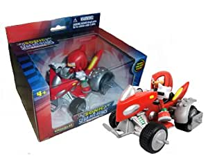 Sonic The Hedgehog 5-inch Sonic All Stars Racing Knuckles and Landbreaker Vehicle