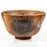 Tealyra - Matcha Schale Bowl Golden - Keramik Matcha-Schüssel - Ceramic - Made in Japan - Chawan from Japanese Master-Craft - Matcha Tea Cup Ceremony Use