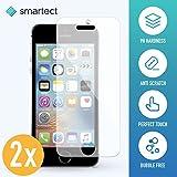 smartect iPhone SE/5/5s/5c Panzerglas Folie - Displayschutz mit 9H Härte - Blasenfreie Schutzfolie - Anti Fingerprint Panzerglasfolie [2 Stück]