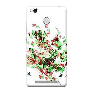 Qbic Premium 3d Printed Back Case Cover Xiaomi Redmi 3s Prime (Premium Designer Case)