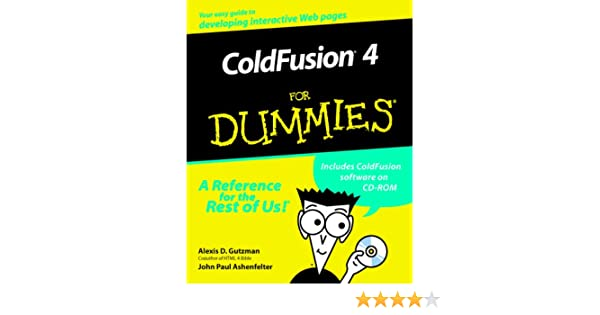 ColdFusion4 For Dummies