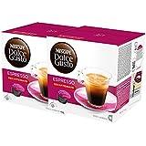 Nescafé Dolce Gusto Espresso Decaffeinato, Lot de 2, 2 x 16 Capsules
