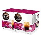 Nescafé Dolce Gusto Espresso Decaffeinato, Entkoffeiniert, Kaffee, Kaffeekapsel, 2er Pack, 2 x 16 Kapseln