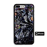 DYMXDDM Cover iPhone 6 Case/Cover iPhone 6S Case (Not for Plus) AADV YBZNE Tempered Glass TPU Case for iPhone 6