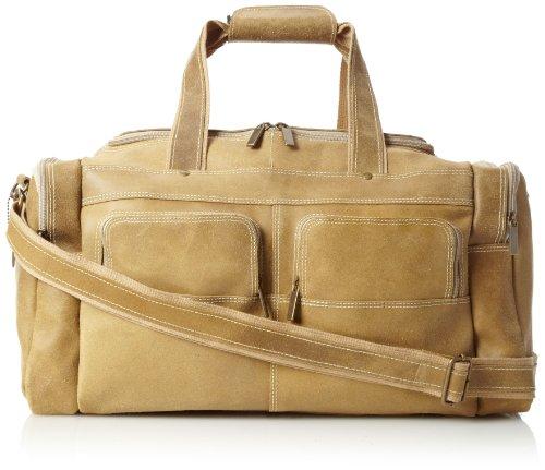 david-king-co-multi-pocket-duffel-distressed-tan-one-size