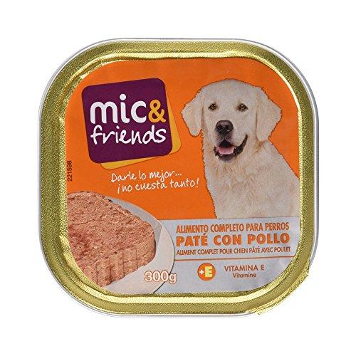 Comida para perros Mic & Friends pollo por sólo 0,58€