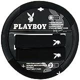 Playboy pb-8101051Lenkradhülle Auto Standard von 37bis 39cm und 2Protèges Gürtel Autos