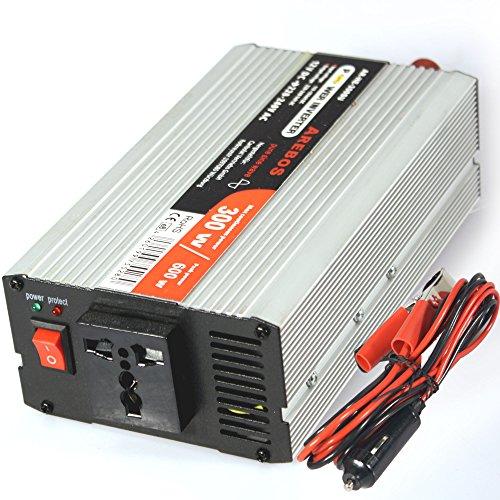 Preisvergleich Produktbild Spannungswandler Wechselrichter Power Inverter 300w / 600w 12V 230V Sinus mit universeller Steckdose