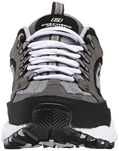 Skechers Stamina Nuovo Herren Charcoal-Black