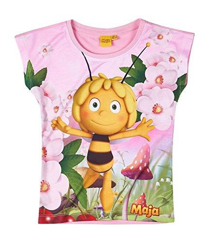 Biene Pullover (Die Biene Maja Kollektion 2018 T-Shirt 86 92 98 104 110 116 122 128 Shirt Maya Neu Rosa (Rosa, 98 - 104; Prime))