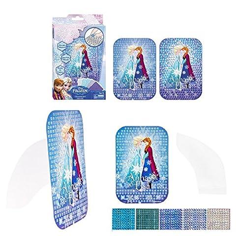 La Reine Des Neiges set créatif avec les autocollants stickers mosaïque idée cadeau Disney
