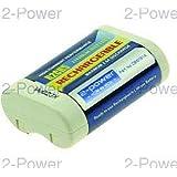 2-Power DBI0151A Ión de litio 500mAh 6V batería recargable - Batería/Pila recargable (500 mAh, Ión de litio, 6 V, Blanco)