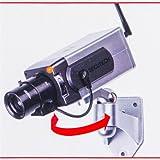 Dummy Atrappe Attrappe Überwachungskamera Kamera mit Bewegungsmelder und Blink LED