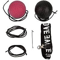 LUTER Reflex Boxball, 2 Speed Levels Boxkampf Ball mit Verstellbaren String Stirnband zur Verbesseru