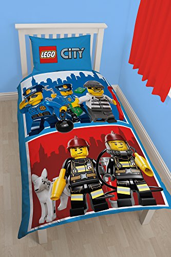 character World Lego City Heroes per letto singolo