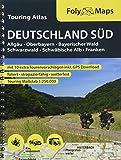 FolyMaps Touringatlas Deutschland Süd 1:250.000