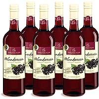 Katlenburger Holunderwein Fruchtwein Süß, 6er Pack (6 x 0.75 l)