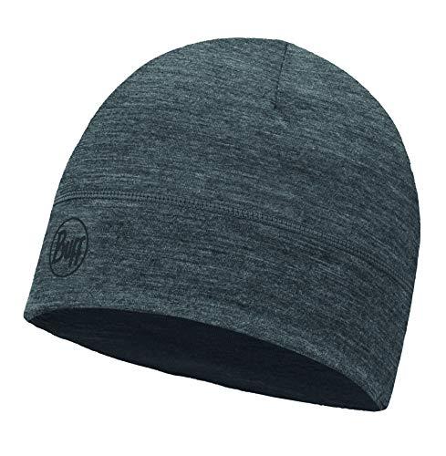 Buff BUF113013.937.10.00 Mütze Solid, Grey, one size